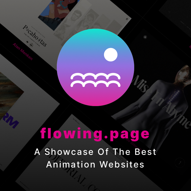 Flowing Page - A showcase of the Impressive Web and Interactive Design