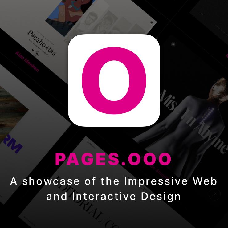 A showcase of the Impressive Web and Interactive Design